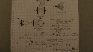 Physics Notes From the First Day